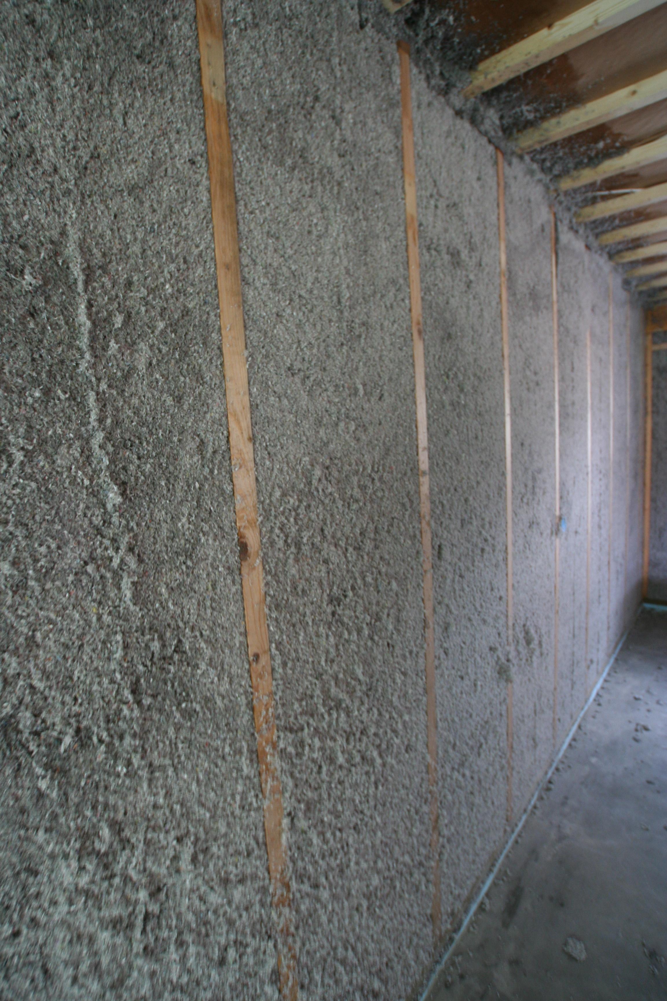 isolera en vägg